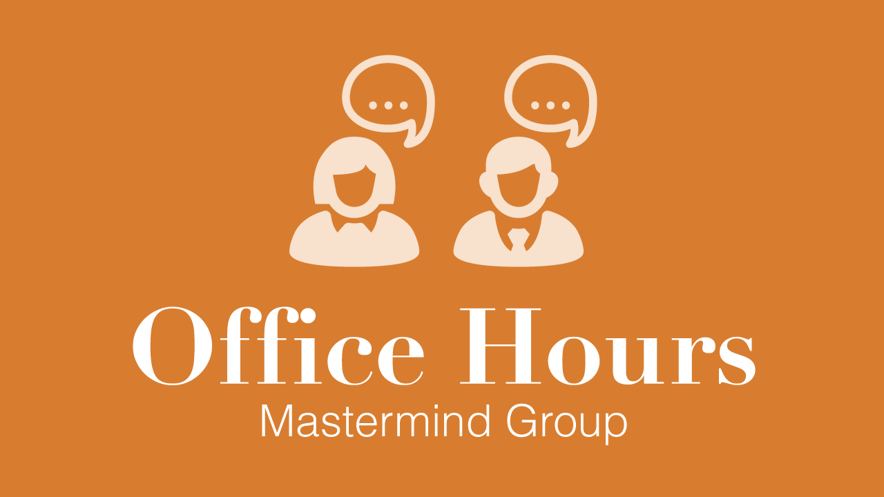 Want to grow your business? Why not try gaining support from a mastermind group! Join Today!